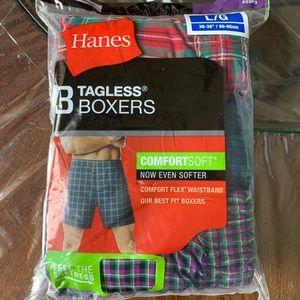 ❤️3 for 25$❤️Hanes men's boxers